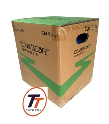 Cáp mạng Cat6 UTP COMMSCOPE AMP PN: 1427254-6