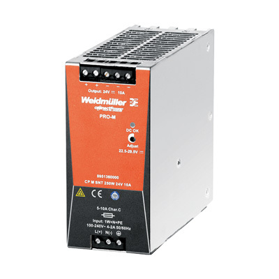 Bộ nguồn Weidmuller, Rail Switching Power Supply CP M SNT 250W 24V 10A , 8951360000