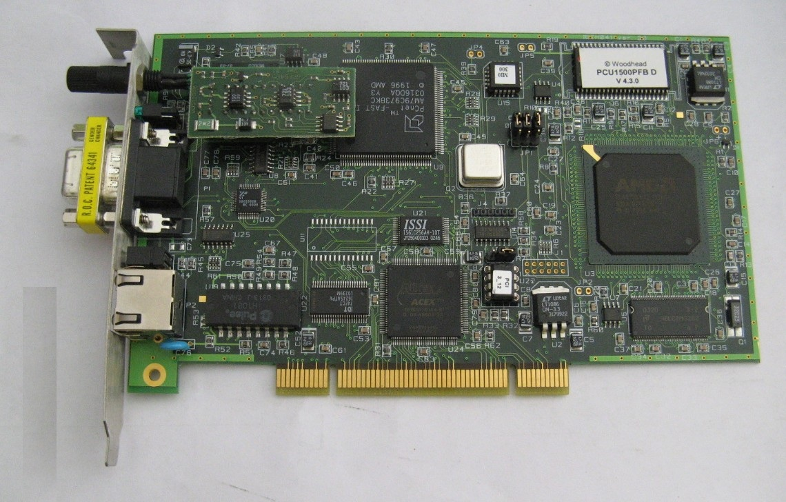 Card mạng, Molex / Woodhead / Applicom PCU1500PFB Profibus Network Interface Card