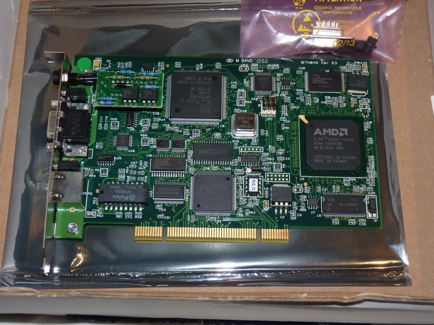 Card mạng, Molex / Woodhead / Applicom PCU1000 PCI Network Interface Card